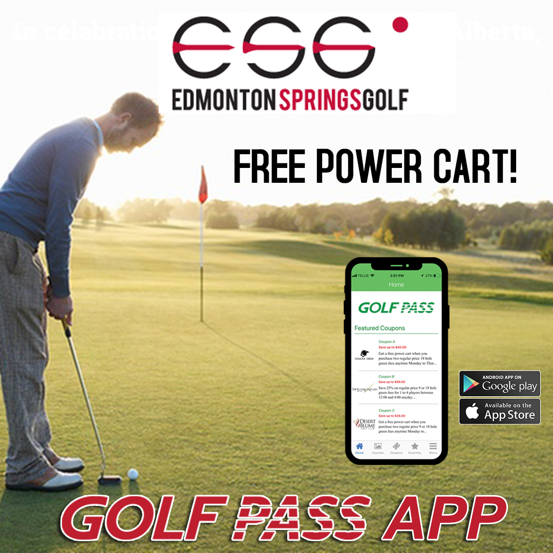 Play around at Edmonton Spring Golf with the Golf Pass