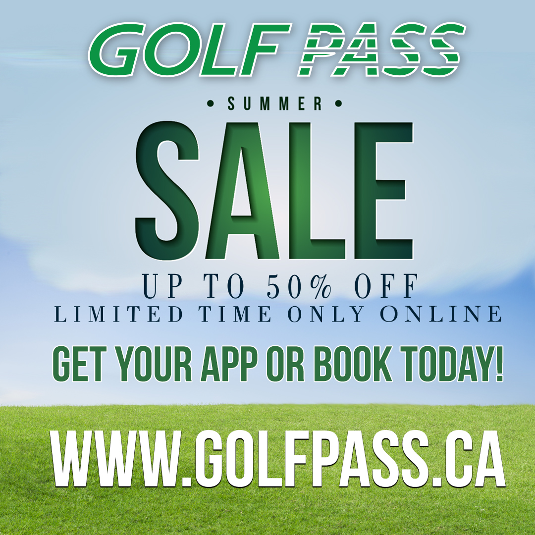 Golf Pass Summer Sale